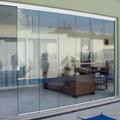 fechamento em cortina de vidro