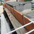 finaizaçao de muro com 6 metros de altura