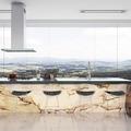 Cozinha com vista para o Morro ipanema