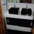 Gabinete de Banheiro com portas de correr