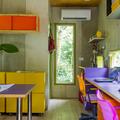espaço compacto para home office