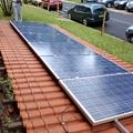 Instalação de painel fotovoltaico