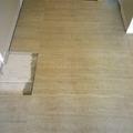 Instalação de piso.