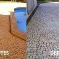 Limpeza de Calçadas, Muros e Grades