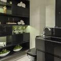Banheiro sofisticado com custo excelente