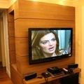 Modelo de painel para sala da TV