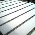 Montagem da laje com Isopor de preenchimento (EPS)