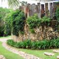 Muro de arrimo em pedra