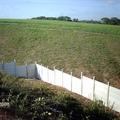 Muro em placas de concreto, Rio Largo/AL