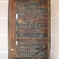 Porta Pivoltante madeira de demolição fornecida pela MAZAL