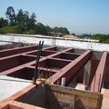 Estrutura em viga Soldada para construção de 144 m² de laje.