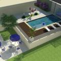 Projeto de piscina e paisagismo