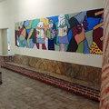 Obras feitas na escola