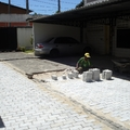 Pavimentação com blocos Intertravados