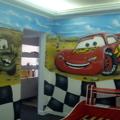 pintura artistica quarto infantil