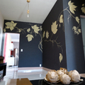 Pintura Decorativa em Sala