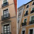 Pintura em prédio residencial - Antes e depois