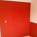 pintura interna c/grafiato vermelho