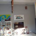 Pintura realizada na Barra da Tijuca