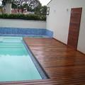 Piscina, Deck em Madeira - Casa - Campo Belo - SP