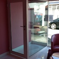 Porta de vidro blindadaa