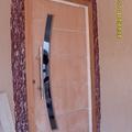 porta pivotante sem pintura