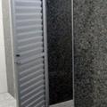 porta veneziana aluminio branco