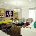 projeto sala de estar e home