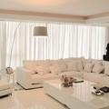 Reforma de sala de estar em Jurerê Internacional.