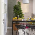Sala de jantar apartamento moderno