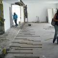 Sala em Reforma conforme projeto