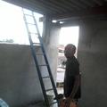 telhado  com  telha  de  amianto