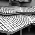 Telhado moderno