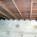 telhados com vigas aparentes ou embutidas