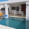 Construção de edícula e piscina - Cobertura Leblon