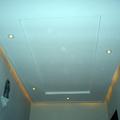teto com iluminação