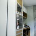 Torre de equipamentos da cozinha