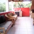 Varanda de casa num sitio com 140 m2