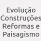 Logo Evolução Construções Reformas e Paisagismo_79561