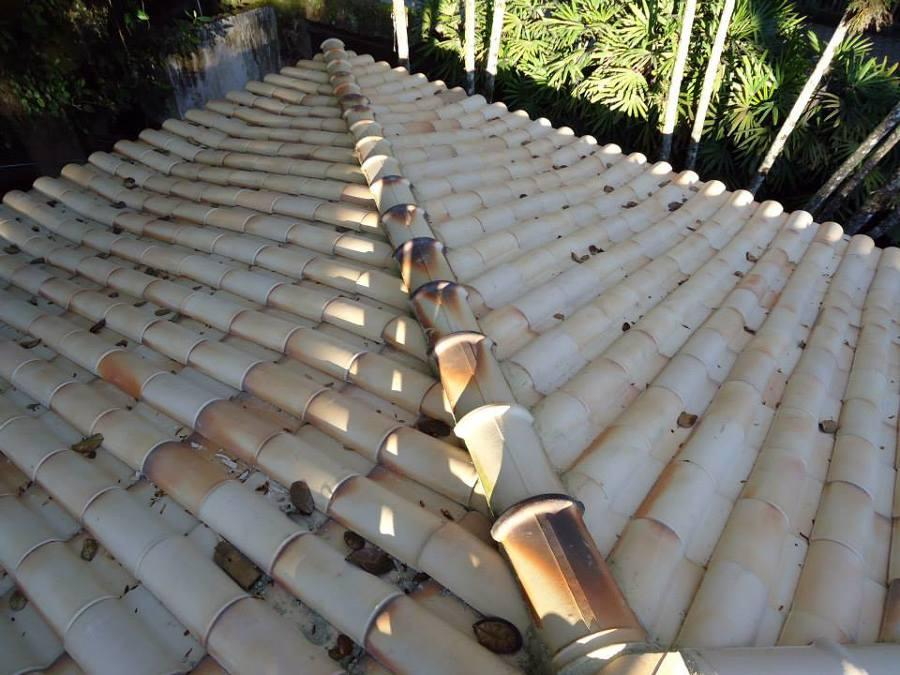 10° Fase da reforma do telhado Ilha bela