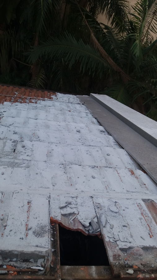Reforma do telhado
