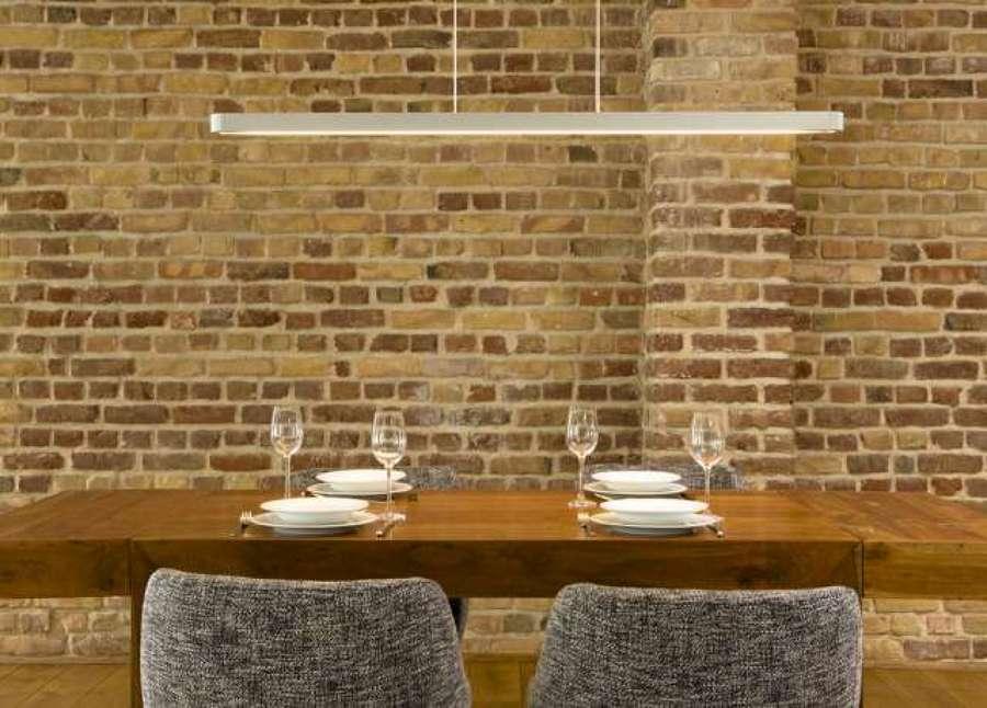 Sala de jantar com tijolinhos Italiano do seculo XVII.