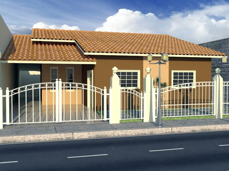 casa com 70 m²