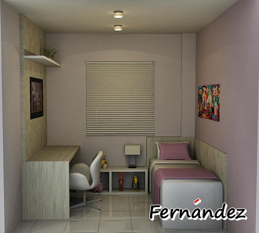Dormitório Infantil para apartamentos pequenos