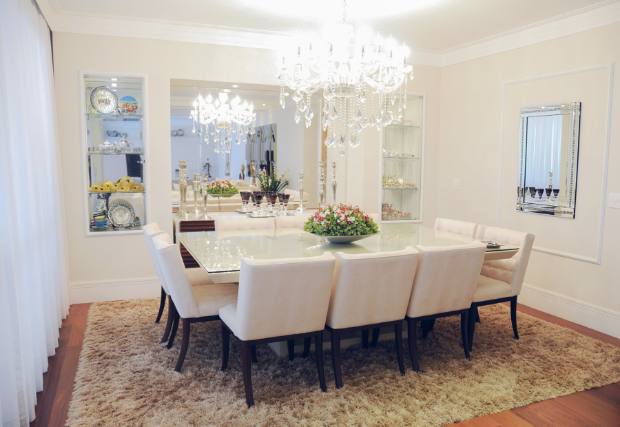 Sala de Jantar do apartamento no Morumbi