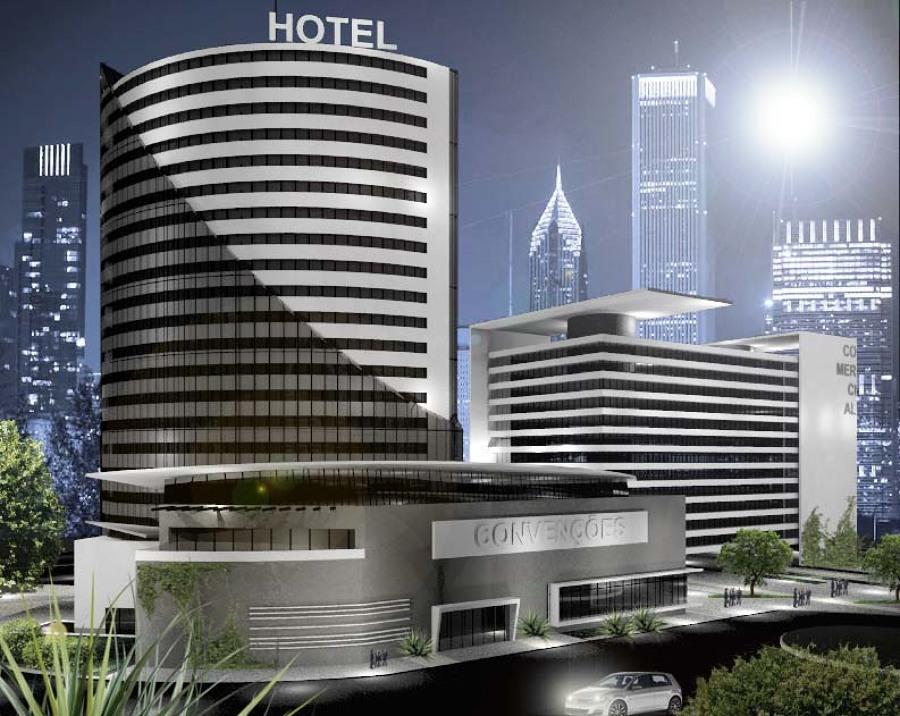 Edifício Comercial e Hotel