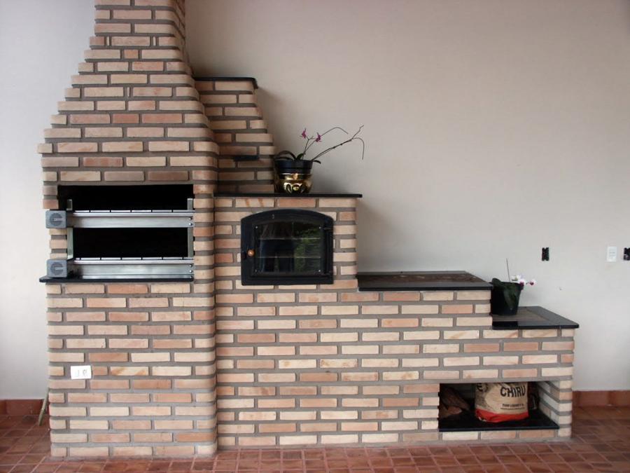 kit churrasqueira forno e fogao