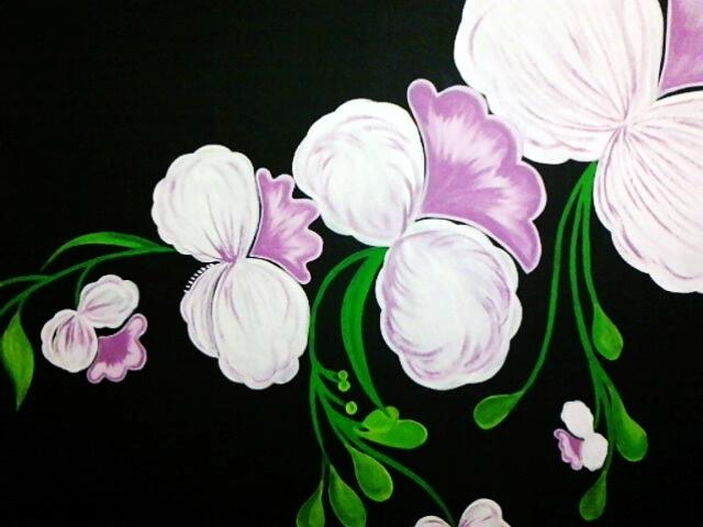Pintura decorativa em parede