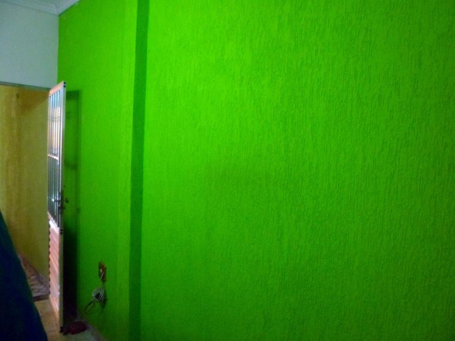 Pintura decorativa (Grafiato Verde)
