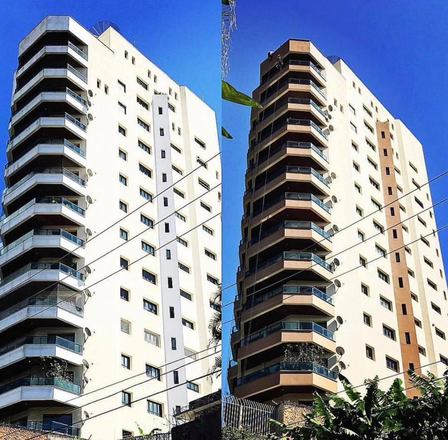 Reforma de fachada Condominio Herculis